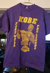 Actual Shirt Purchased During Kobe Bryant's Retirement Game In Los Angeles...