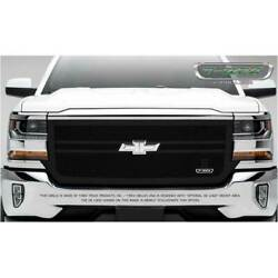T-rex Blacked Out X-metal 2 Bar Main Grille Overlay For Chevy Silverado 1500 16