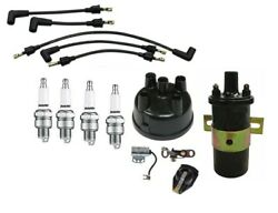 Ford Naa 600 601 800 801 900 Tractor Tune Up Kit W/ 12 Volt Coil