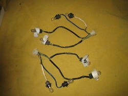 Datsun 280zx Taillight Wiring Harnesses With Bulbs 1979-1983
