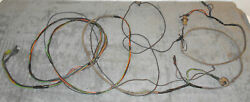 1967 Mustang Fastback Coupe Gt Convrt Orig Tail Light Trunk Wiring Harness W D/e