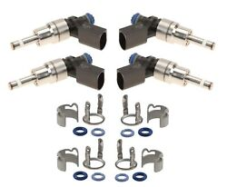 Bosch Fuel Injector Service Kit For Vw Golf R Base 2012-2013