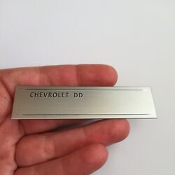 Chevrolet Data Plate Id Serial Number 1953-1963 Chevy Classic Car Blank Steel