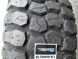 4 New 40x15.50r24 Ironman All Country Mt Tires 40155024 40 1550 24 15.50 Mud M/t