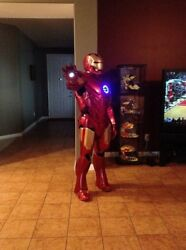 Iron Man Cosplay Armor Costume Light Fiberglass Reinforced
