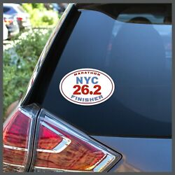Nyc New York City Marathon 26.2 Finisher Removable Sticker Decal Or Car Magnet