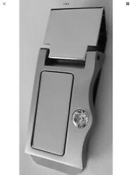 NIB Money Clip Silver Tone Stainless Steel Groomsmen Gift Set  Of 6