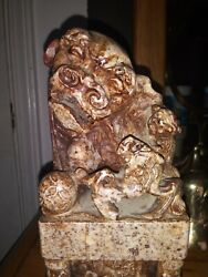 Foo Dog Antique Chinese Figurines Statues China