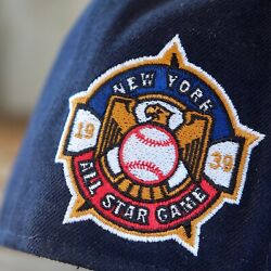 NEW ERA 1939 MLB ALL STAR GAME NEW YORK SIDE PATCH NEW ERA 59FIFTY FITTED