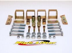 High Lifter Front And Rear Lift Kit For Yamaha Grizzly 660 02-07 Ylk660-01