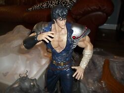 Fist Of The North Star Sideshow Statue Kenshiro Deluxe Edition Anime Huge