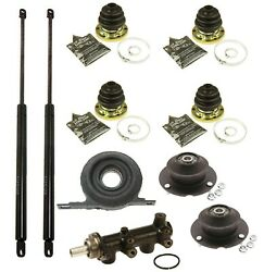 Front And Rear Shock Mounts Hood Lift Support And Driveshaft Center For Bmw
