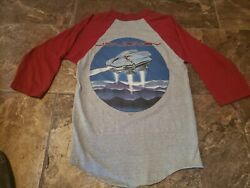 Vintage Concert ESCAPE baseball Tee STEVE PERRY JOURNEY 82 NEVER WORN WASHED!!