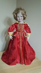 Shirley Temple By Danbury Mint 1993 - 17 Inch Porcelain Doll