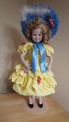 Shirley Temple By Danbury Mint 1994 - 17 Inch Porcelain Doll