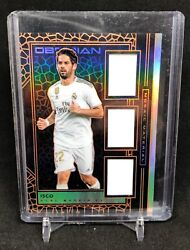 2019-20 Panini Obsidian Soccer Mosaic Material Tri Jersey Isco 30/50