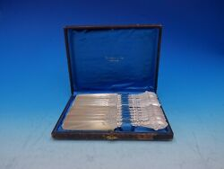 Italian By And Co Sterling Silver Tea Knife Set 12pc In Fitted Box Gw Bc