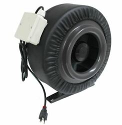 New 10 760cfm Inline Duct Booster Fan Air Cool Hydroponic Blower Exhaust Vent