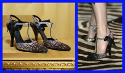 New Very Rare Tom Ford For Ysl Rhinestone Spectator Shoes 36 - 6