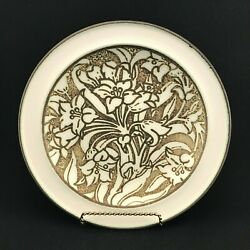 Dinner Plate S Tiger Lily By Wedgewood England Very Rare '62-75 Discontinued
