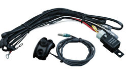 Kuryakyn - 2203 - Driving Light Wiring And Relay Kit With Control Mounted Switch