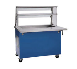 Delfield Kci-74-nu 74 Long Shellyglas 5-pan Size Cold Food Serving Counter