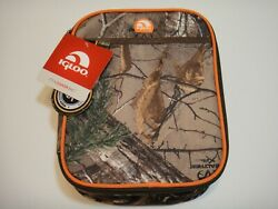 Igloo Realtree Xtra Lunch Box Cooler Bag Color Brown Camo