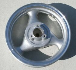 13 Gas Scooter Rear Rim 13mt 3.5 Max 1588n Tpgs-808 Disc Brake In Silver
