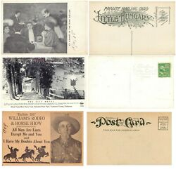 Vintage Advertising Postcards Usa Tourist Sites Unusual And Unique Lot Of 27