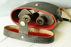 Military Army Binoculars. Made In The Ussr In The 50s. Vintage.