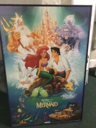 """Banned Little Mermaid Poster, Disney, Authentic, 34"""" X 23"""""""