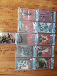 The Walking Dead Run 41-50 And 50 Variant Cgc