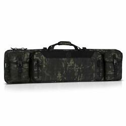 New Tactical Double Carbine Case/backpack 42 Free Shipping