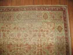 Vintage All-over Turkish Ushak Oushak Keyseri Rug Size 4and0392and039and039x5and03910and039and039