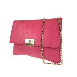 Michael Kors Clutch bag Shoulder Bag 2WAY bag pink leather Women from Japan $120.00