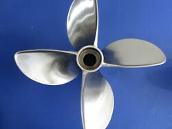 New 15 X 26 Signature Eagle Four Blade Propeller Left Hand For V-6 Outboard