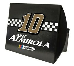 Nascar Metal Hitch Cover-aric Almirola 10 Metal Trailer Hitch Cover