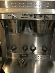 Fetco CBS 62H Stainless Steel Twin Automatic Coffee Brewer 120 208 240V