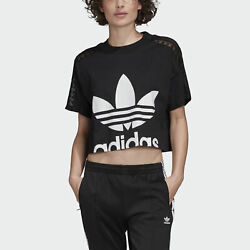 adidas Originals Cropped Lace Tee Women's