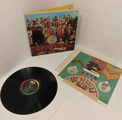 Ultra Rare The Beatles Sgt Peppers Final West Coast Mono Promo Version