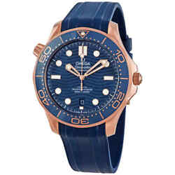 Omega Seamaster Diver Automatic Blue Dial Men's Watch 210.62.42.20.03.001