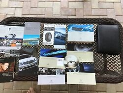 Mercedes-benz S550 Awd All Operator Owner Manuals + Case. like New.