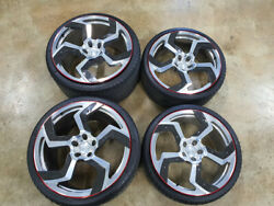 Mansory Genuine 20in/21in Fully Forged Wheel Set For Lamborghini Aventador Lp700