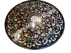 38 Marble Marqutery Top Decorative Dining Table Gift For Her Inlay Floral Art