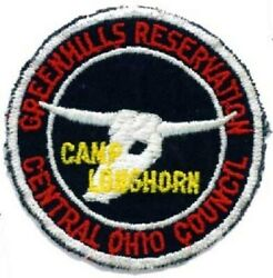 Bsa Central Ohio Council Greenhills Camp Longhorn Patch
