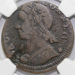 1788 1c Mailed Bust Connlc Connecticut Colonial Copper Coin Ngc Fine Details