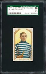 1911-12 C55 Imperial Tobacco 6 Tom Dunderdale 2nd Year Card - Sgc 70 Excellent+