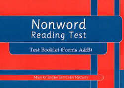 Nonword Reading Test By Mccarty, Colin, Crumpler, Mary
