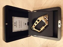 OAKLEY AUTHENTIC GOLD CARABINER $265.00