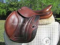 15.5/16 Cwd Se02 Calf French Close Contact Child/pony Jumping Saddle-2011 Model